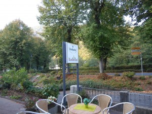 foto terras in september Motorhotel eifel Lindental Bad Bertrich